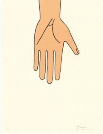 Литография Brossa - Poema visual 26
