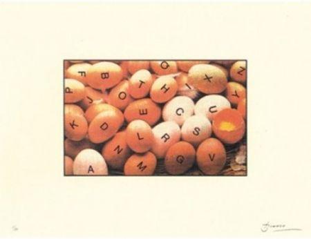 Литография Brossa - Poema visual 27