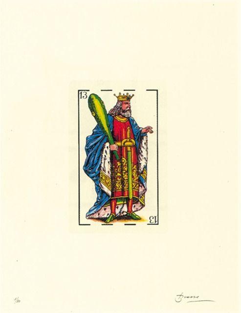 Литография Brossa - Poema visual 32