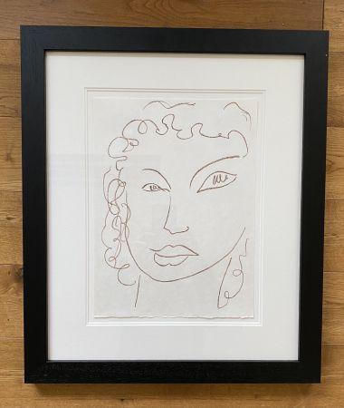 Литография Matisse - Poesies Antillaises - Number J.1