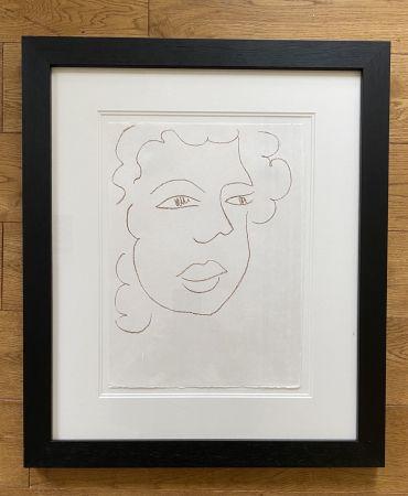 Литография Matisse - Poesies Antillaises - Number J.7