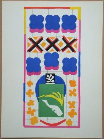 Литография Matisse - Poissons Chinois