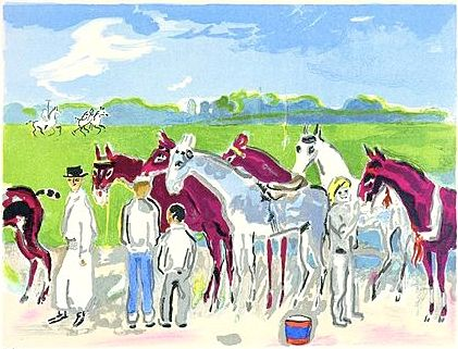 Литография Van Dongen - Polo or Deauville