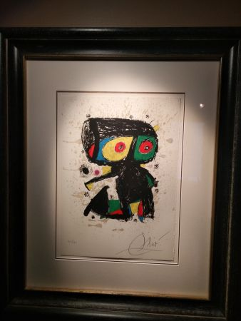 Литография Miró - Polygraph Xv Anos