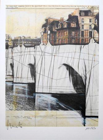 Литография Christo - Pont Neuf Wrapped