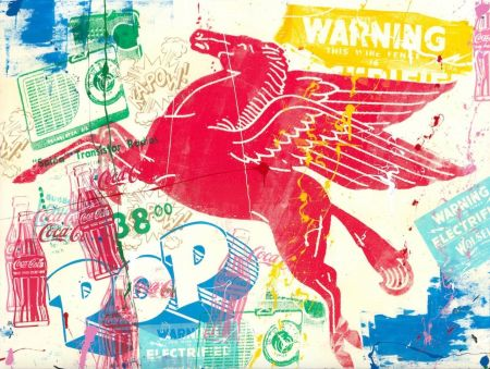 Сериграфия Mr Brainwash - Pop Scene