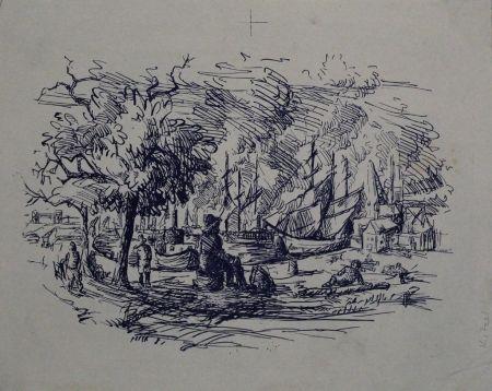Литография Kitzel - Port