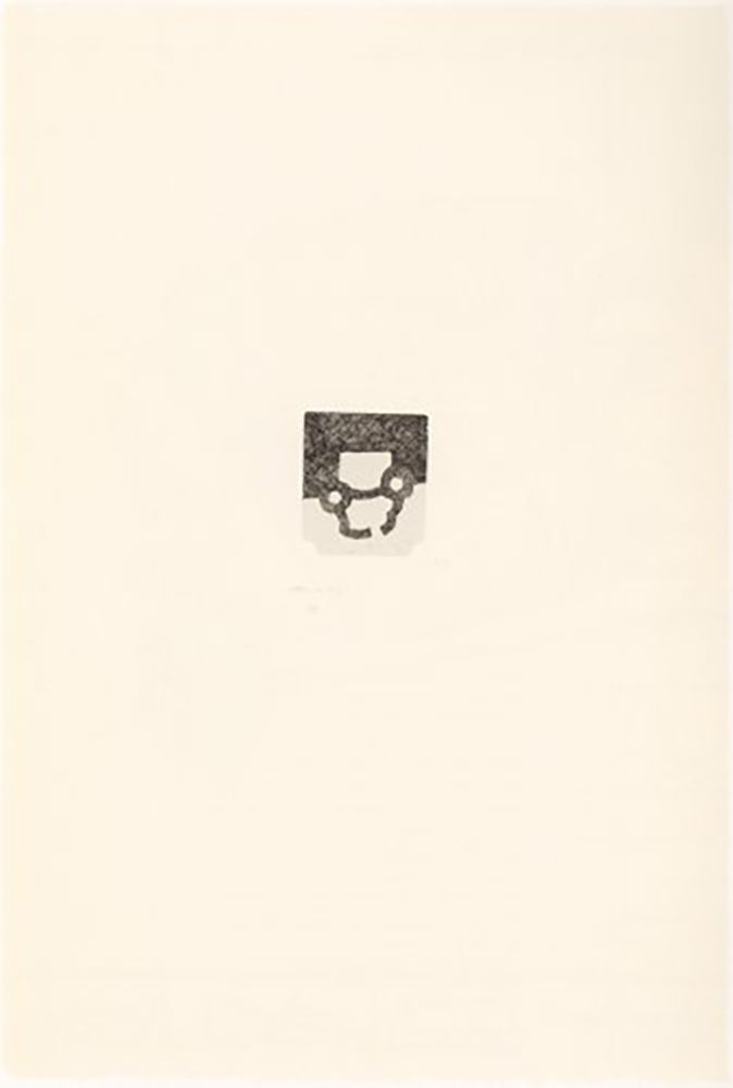 Гравюра Chillida - Portfolio 12th Anniversary of Galeria Joan Prats