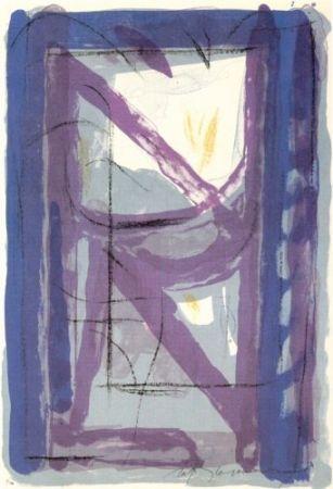 Литография Ràfols Casamada - Portfolio 12th Anniversary of Galeria Joan Prats