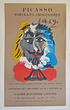 Литография Picasso - Portrais Imaginaires