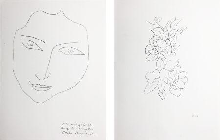 Литография Matisse - PORTRAIT D'ANGÈLE (1943)