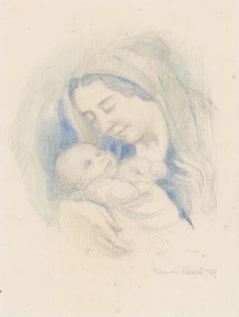 Нет Никаких Технических Denis - Portrait d'Antoine Poncet dans les bras de sa mère Anne-Marie