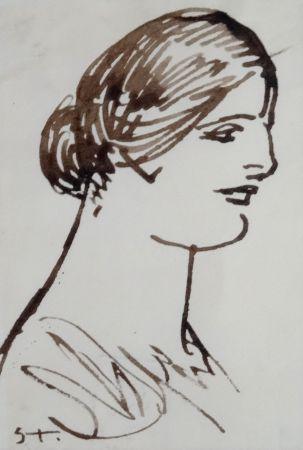 Нет Никаких Технических Steinlen - Portrait De Femme