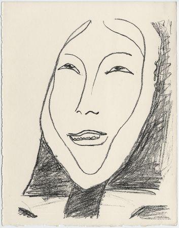 Литография Matisse - Portrait de femme esquimau n° 4. 1947 (Pour Une Fête en Cimmérie)