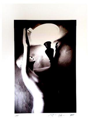 Литография Gibson - Portrait de Femme Nue