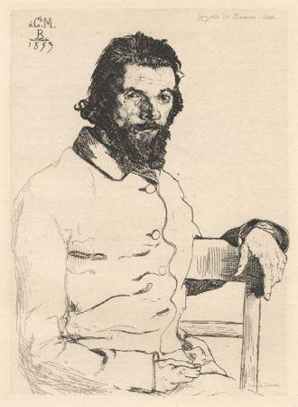 Нет Никаких Технических Bracquemond - Portrait De Meryon