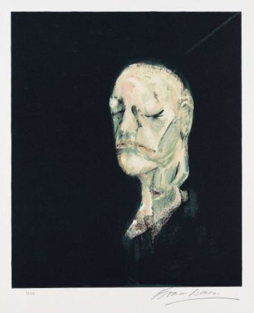 Литография Bacon - Portrait de William Blake