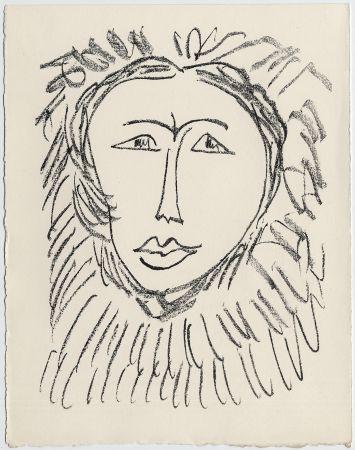 Литография Matisse - Portrait d'homme esquimau n° 3. 1947 (Pour Une Fête en Cimmérie)