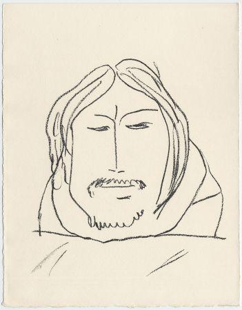 Литография Matisse - Portrait d'homme esquimau n° 6. 1947 (Pour Une Fête en Cimmérie)