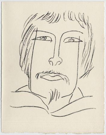 Литография Matisse - Portrait d'homme esquimau n° 7. 1947 (Pour Une Fête en Cimmérie)