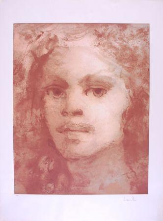 Литография Fini - Portrait imaginaire