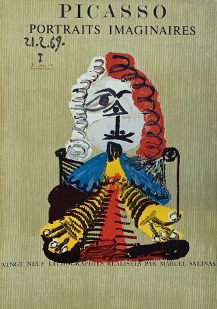 Литография Picasso - Portrait Imaginaire 21.2.69 I