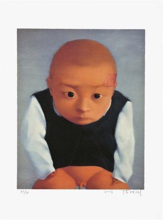 Литография Xiaogang - Portrait of a boy