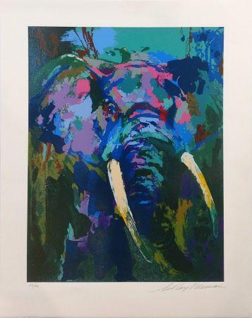 Сериграфия Neiman - PORTRAIT OF AN ELEPHANT