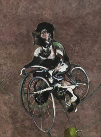 Многоэкземплярное Произведение Bacon - Portrait of Georges Dyer Riding a Bicycle 1966