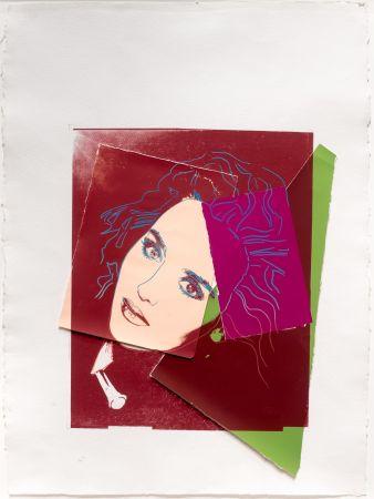 Сериграфия Warhol - Portrait of Isabelle Adjani