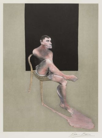 Литография Bacon - Portrait Of John Edwards 1988