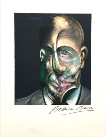 Литография Bacon - Portrait of Michel Leiris
