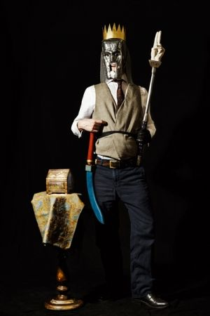 Цифровой Эстамп Leherpeur - Portrait of the Artist in 2014