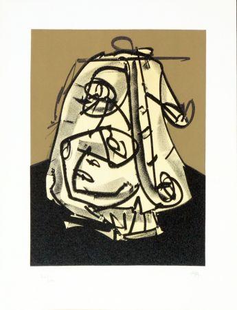 Литография Saura - Portrait V