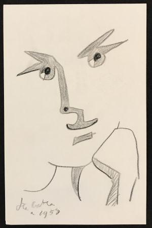 Нет Никаких Технических Cocteau - Portrait with Hand to Chin