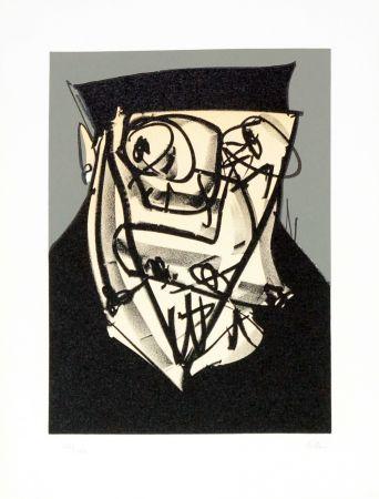 Литография Saura - Portrait XIV
