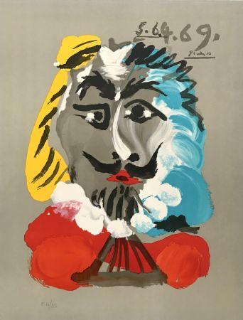 Литография Picasso - Portraits Imaginaires 5.6.4.69