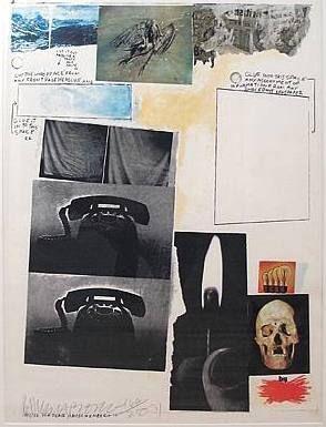 Сериграфия Rauschenberg - Poster for Peace