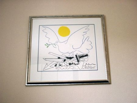 Литография Picasso - Poster For World Congress For General Disarmament And Peace