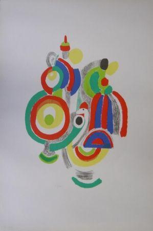 Литография Delaunay - Poupées portugaises