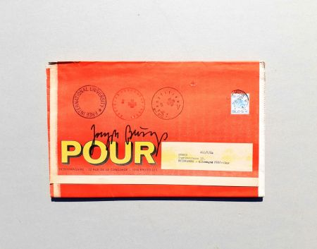 Сериграфия Beuys - POUR
