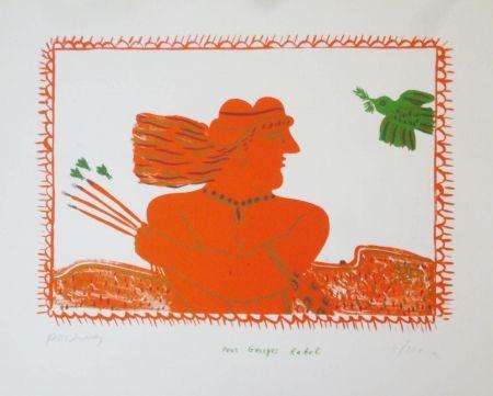 Литография Fassianos - Pour Georges Rabol