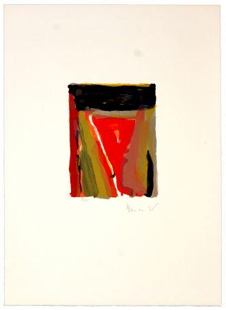 Литография Van Velde - Pour Jorn