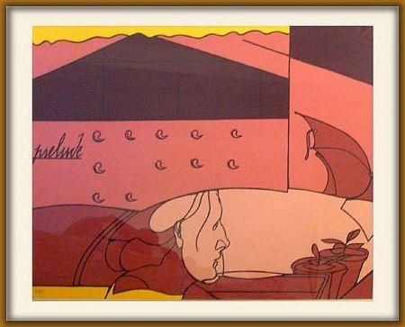 Сериграфия Adami - Prelude