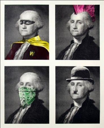 Многоэкземплярное Произведение Mr Brainwash - President's Day