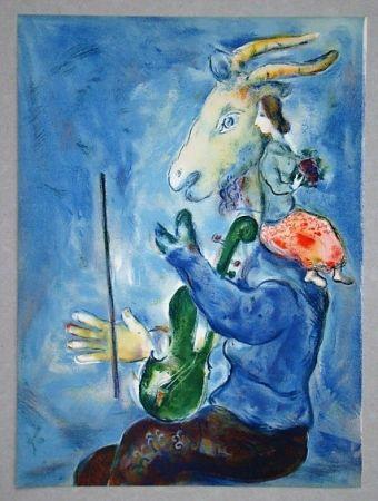 Литография Chagall - Printemps