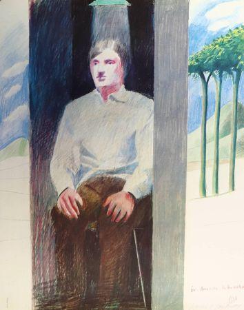 Литография Hockney - Prisoner