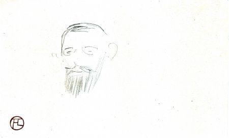 Нет Никаких Технических Toulouse-Lautrec - Procès Arton — Tête de monsieur Jacques Saint-Cère