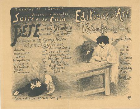Литография Vallotton - Programme pour