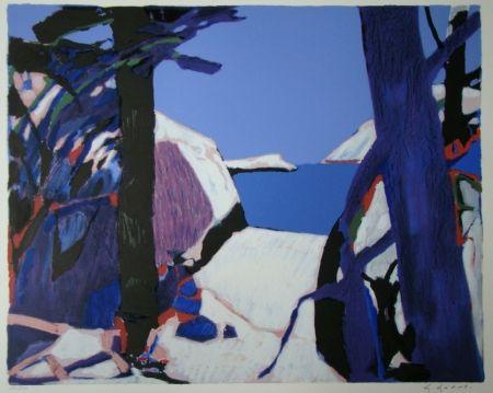 Литография Godard - Provence
